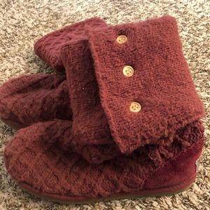 Cozy knit Ugg boots